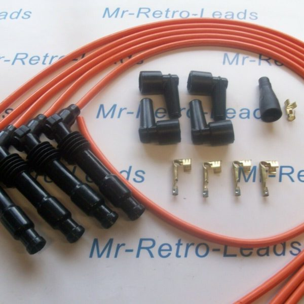 Orange 8mm Performance Ignition Lead Kit C20let C20xe Cavalier Calibra Quality