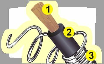 """Yellow 8mm 20"""" Inche Extra Long Ignition Coil Lead Ht Cars From  50s / 70s  More"""