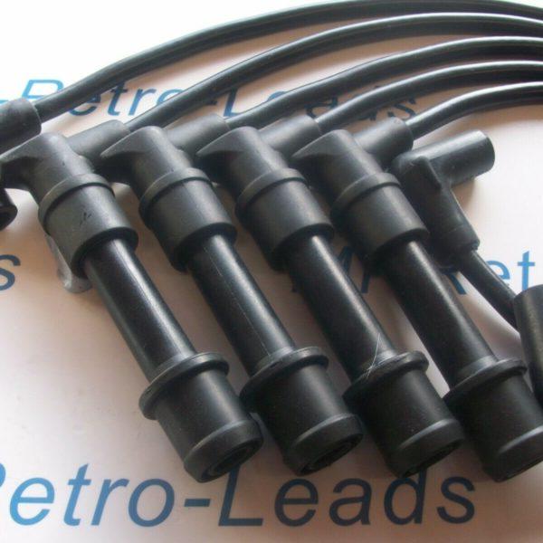 Black 8mm Performance Ignition Leads Lotus Elan Se 1.6i None Turbo 16v M100